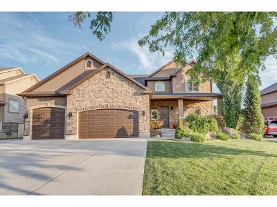 Layton Single Family Home Under Contract: 3451 W 400 N