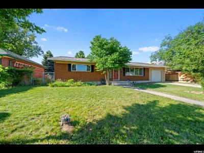 Provo Single Family Home For Sale: 1186 W 1200 N