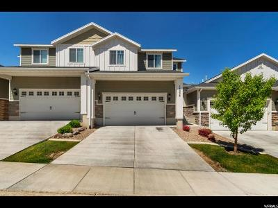 Draper Townhouse For Sale: 14256 S Side Hill Ln