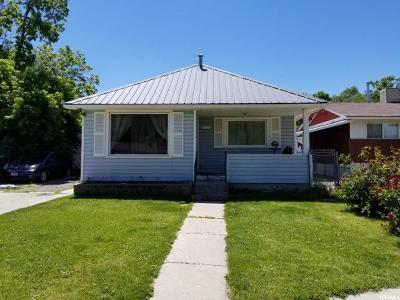 Weber County Single Family Home Under Contract: 1027 E Rushton St S