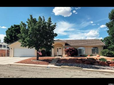 St. George Single Family Home Under Contract: 2023 E 140 S
