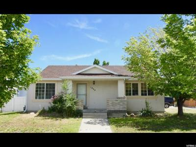 Tooele Single Family Home For Sale: 1444 N Clemente Way