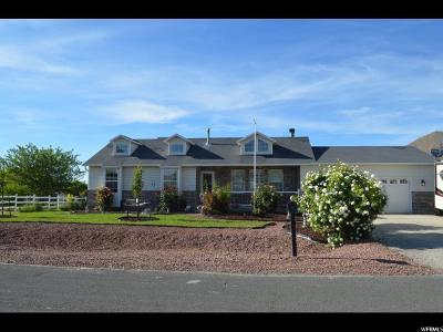 Tooele County Single Family Home For Sale: 1935 Stoney Mountain Dr