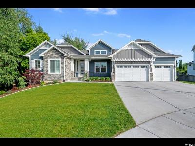 Kaysville Single Family Home Under Contract: 33 S Wildon Ct