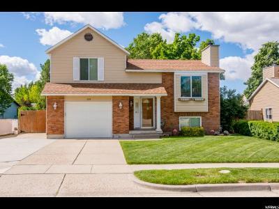 Layton Single Family Home Backup: 1054 W 2525 N