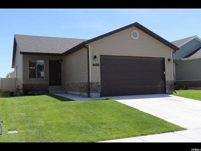 Eagle Mountain Single Family Home For Sale: 1656 E Slow Water Way N