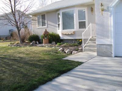 Riverton Single Family Home For Sale: 5018 W Van Cott Peak Dr