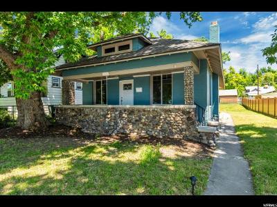 Salt Lake City Single Family Home For Sale: 1197 S 700 E
