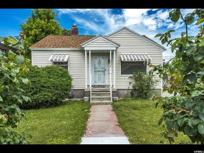 Sugar House Single Family Home For Sale: 1257 E Hudson Ave S