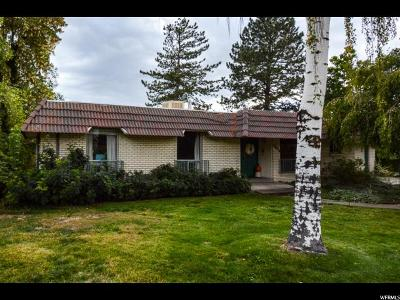 Salt Lake City Single Family Home For Sale: 2804 E Wander Cir
