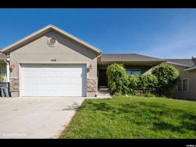 South Jordan Single Family Home For Sale: 4106 W Juniper Hills Dr S