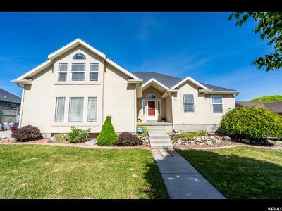 Eagle Mountain Single Family Home For Sale: 7633 N Castle Rock E