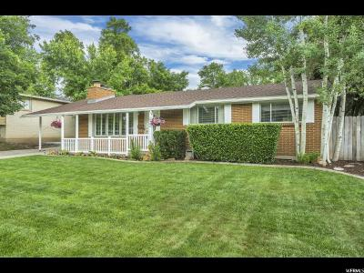 Holladay Single Family Home Under Contract: 2120 E 6320 S