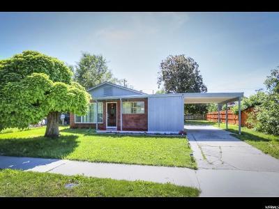 Salt Lake City Single Family Home Backup: 1183 N Catherine St