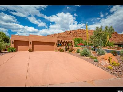 St. George Single Family Home For Sale: 2336 W Entrada Trl #23