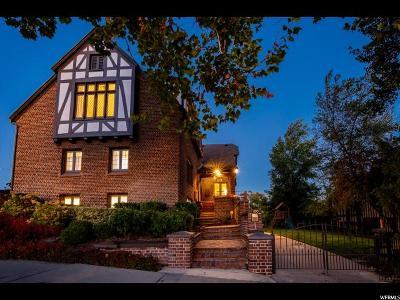 Salt Lake City Single Family Home For Sale: 106 E East Capitol St N