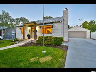 Salt Lake City Single Family Home For Sale: 2887 S Hartford St