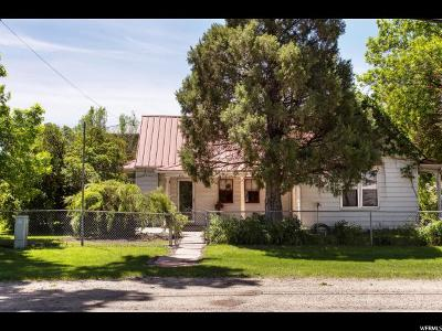 Wasatch County Single Family Home For Sale: 513 W Center St