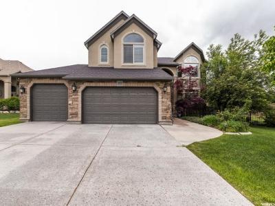 South Jordan Single Family Home For Sale: 10338 S Alder Grove Cir