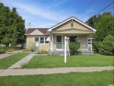 Salt Lake City Single Family Home For Sale: 2562 S Park St E