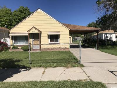 Salt Lake City Single Family Home For Sale: 436 N 1000 W