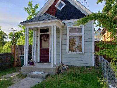 Salt Lake City Single Family Home For Sale: 933 E Pennsylvania Pl S