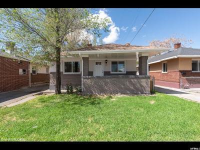 Salt Lake City Single Family Home For Sale: 37 E Kelsey Ave S