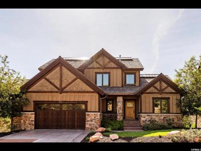 Wasatch County Single Family Home For Sale: 332 N Red Ledges Village Way N