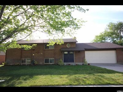 Sandy Single Family Home For Sale: 1109 E Hidden Valley Dr S