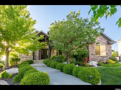 Draper Single Family Home For Sale: 1881 E Somerset Dr S