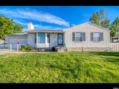 Tooele County Single Family Home For Sale: 1296 E Smelter Rd