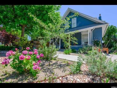 Salt Lake City Single Family Home For Sale: 1128 E 4th Ave