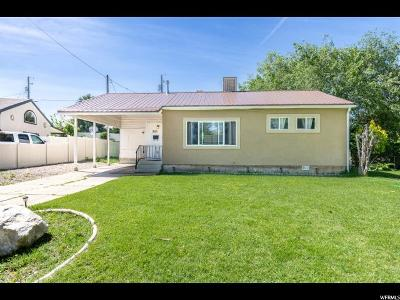 Weber County Single Family Home For Sale: 365 E 4675 S