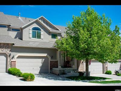 West Jordan Townhouse For Sale: 7064 W Cottage Point Dr