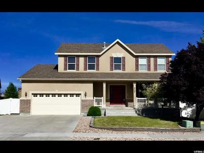Stansbury Park Single Family Home For Sale: 5727 N Ketch Ln W