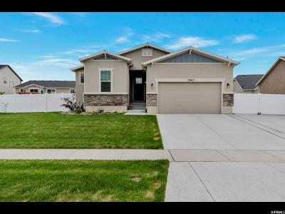 Stansbury Park Single Family Home For Sale: 5965 N Spring St W
