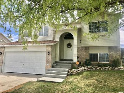 Tooele Single Family Home Under Contract: 408 E 740 N