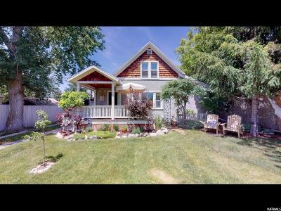 Salt Lake City Single Family Home Under Contract: 1527 E Ramona S