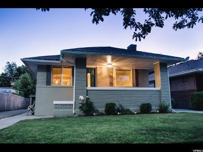 Salt Lake City Single Family Home Under Contract: 2000 S 400 E