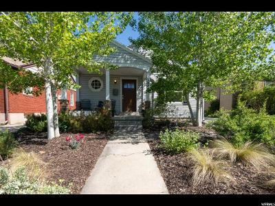 Salt Lake City Single Family Home For Sale: 1545 E 1700 S