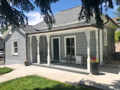 Salt Lake City Single Family Home For Sale: 60 W 300 N