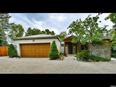 Salt Lake City Single Family Home For Sale: 3600 E Millcreek Rd