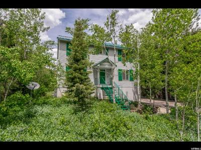 Park City Single Family Home Under Contract: 520 Aspen Dr