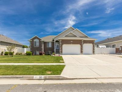 Davis County Single Family Home Under Contract: 315 W 800 S