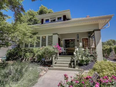Salt Lake City Single Family Home For Sale: 939 E Laird Ave