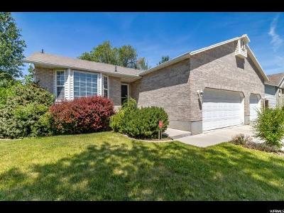 West Jordan Single Family Home For Sale: 7672 Battlefield Cv