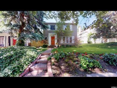 Salt Lake City Single Family Home For Sale: 1289 E Second Ave N