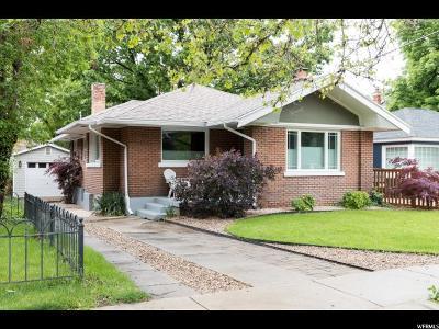 Salt Lake City Single Family Home For Sale: 1058 S 1100 E