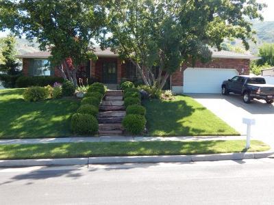 Fruit Heights Single Family Home For Sale: 1501 S Harvey Rd E