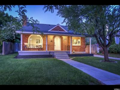 Sugar House Single Family Home For Sale: 2471 S Filmore St E